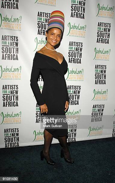 Actress Victoria Rowell arrives at the Artists For A New South Africa's Jabulani Celebration at The Wiltern on September 22 2009 in Los Angeles...