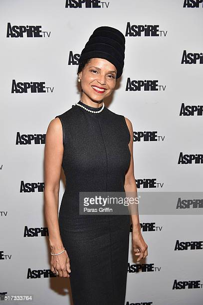 Actress Victoria Rowell attends ASPiRE Premiere Screening of Magic in the Making on March 24 2016 in Atlanta Georgia
