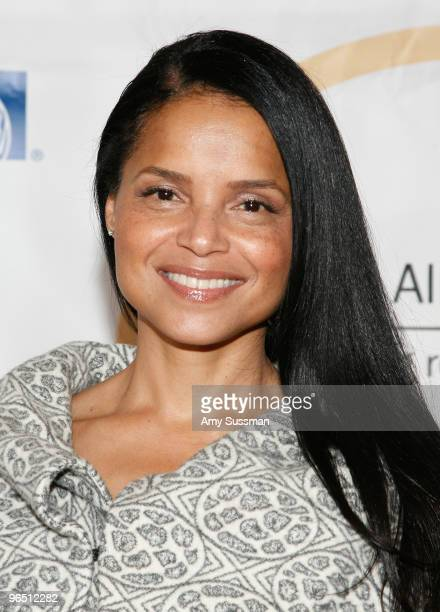 Actress Victoria Rowell attends the 2010 Grace in Winter Silver Ball at The Grand Ballroom at The Plaza Hotel on February 8 2010 in New York City