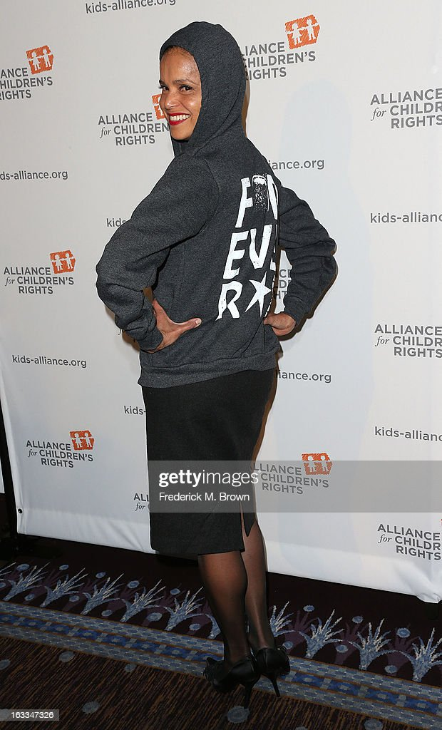 Actress Victoria Rowell attends The Alliance For Children's Rights' 21st Annual Dinner at The Beverly Hilton Hotel on March 7, 2013 in Beverly Hills, California.