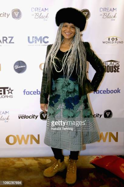 Actress Victoria Rowell attends the Dream In Black Sunday Brunch during the 2019 Sundance Film Festival at The Blackhouse Foundation on January 27...