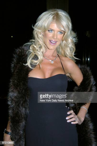 Actress Victoria Silvstedt attends the Princess Grace Foundation Awards at Cipriani