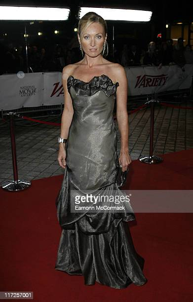 Actress Victoria Smurfitt attends the National Movie Awards at the Royal Festival Hall on September 28 2007 in London England