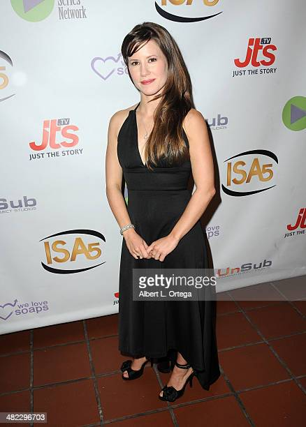 Actress Victoria Sullivan attends 5th Annual Indie Series Awards held at El Portal Theatre on April 2 2014 in North Hollywood California