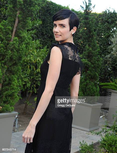 Actress Victoria Summer arrives at Mercy For Animals Hidden Heroes Gala 2016 at Vibiana on September 10, 2016 in Los Angeles, California.