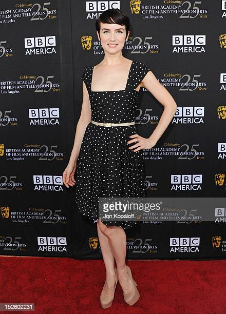 Actress Victoria Summer arrives at the BAFTA Los Angeles TV Tea 2012 Presented By BBC America at The London Hotel on September 22, 2012 in West...