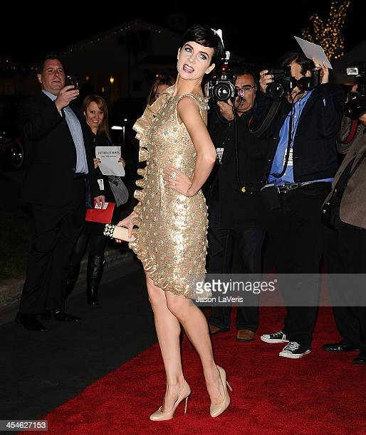 Actress Victoria Summer attends the premiere of Saving Mr Banks at Walt Disney Studios on December 9 2013 in Burbank California