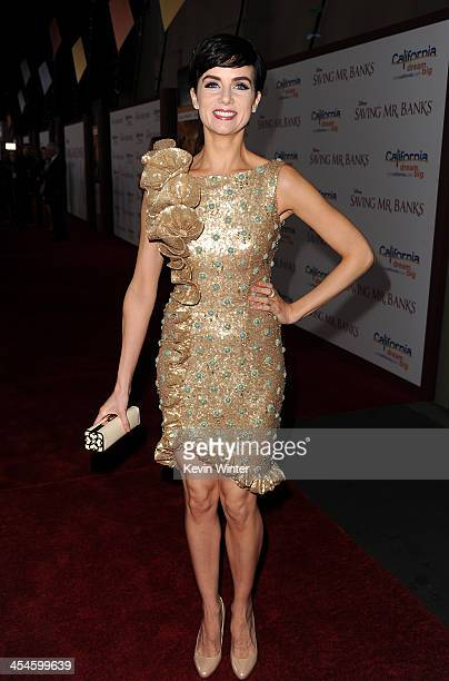 Actress Victoria Summer attends the US premiere of Disney's Saving Mr Banks the untold backstory of how the classic film Mary Poppins made it to the...