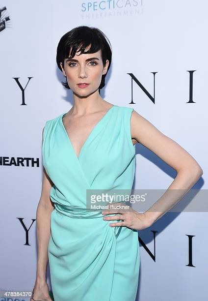 Actress Victoria Summer attends the world premiere of UNITY at the DGA Theater on June 24 2015 in Los Angeles California