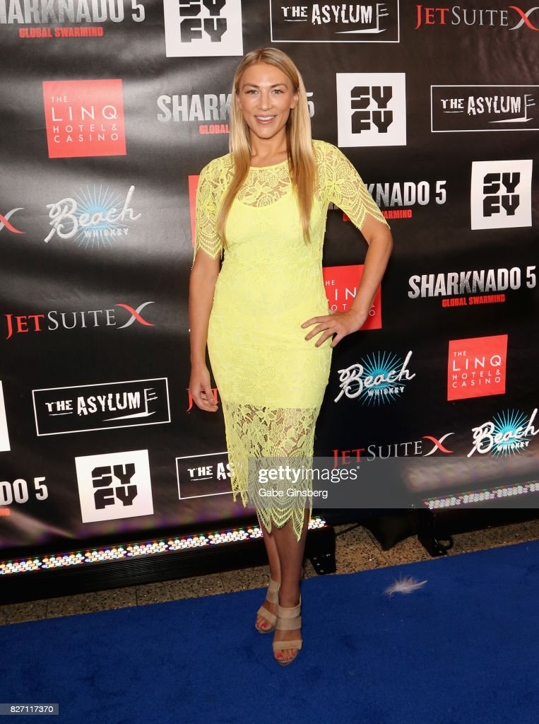 'Sharknado 5: Global Swarming' Premiere At The Linq In Las Vegas : News Photo