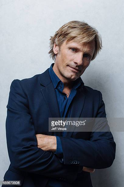 Actress Viggo Mortensen is photographed for a Portrait Session at the 2014 Toronto Film Festival on September 4 2014 in Toronto Ontario
