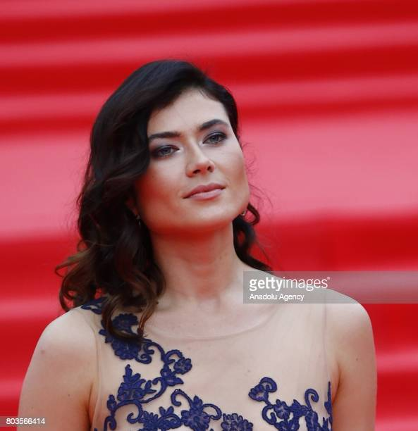Actress Viktoriya Solovyova attends red carpet closing at 39th Moscow International Film Festival in Moscow Russia on June 29 2017