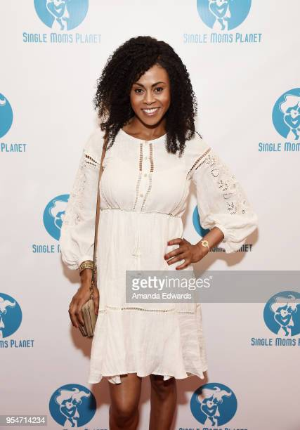 Actress Vinessa Antoine arrives at The Single Mom's Awards presented by Single Moms Planet at The Peninsula Beverly Hills on May 4 2018 in Beverly...
