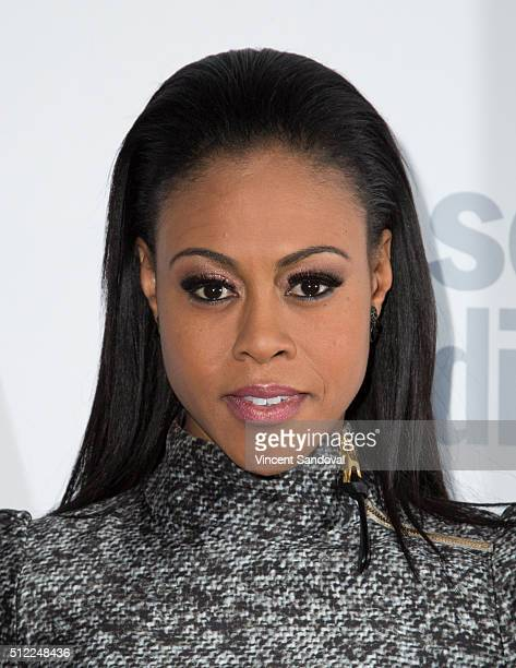 Actress Vinessa Antoine attends Soap Opera Digest Celebrates 40th Anniversary at The Argyle on February 24 2016 in Hollywood California