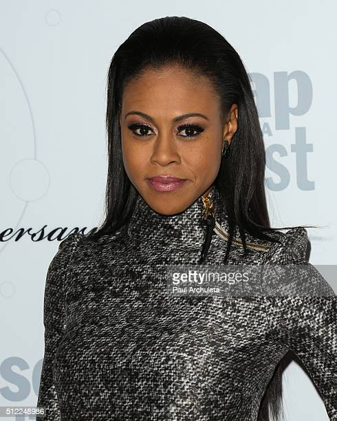 Actress Vinessa Antoine attends Soap Opera Digest's 40th Anniversary celebration at The Argyle on February 24 2016 in Hollywood California