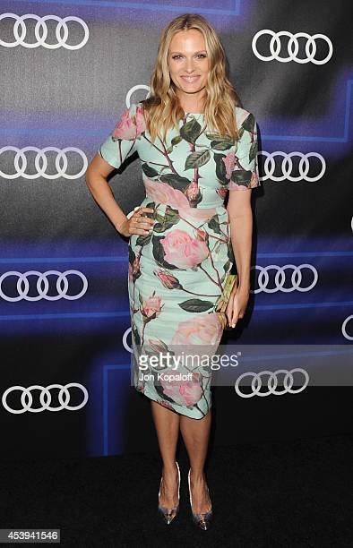 Actress Vinessa Shaw arrives at Audi Emmy Week Celebration at Cecconi's Restaurant on August 21 2014 in Los Angeles California