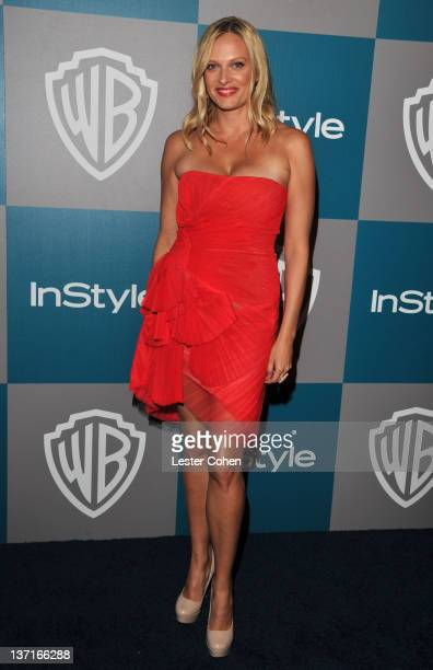 Actress Vinessa Shaw arrives at the 13th Annual Warner Bros and InStyle Golden Globe After Party held at The Beverly Hilton hotel on January 15 2012...