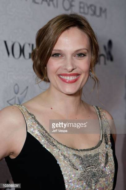 Actress Vinessa Shaw arrives at The Art of Elysium's 3rd Annual Black Tie Charity Gala Heaven on January 16 2010 in Beverly Hills California