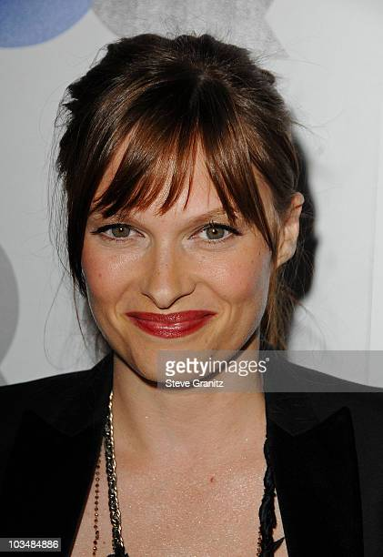 Actress Vinessa Shaw arrives at the GQ Men of the Year party held at the Chateau Marmont Hotel on November 18 2008 in Los Angeles California