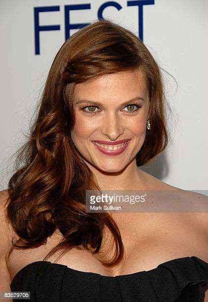 Actress Vinessa Shaw attends the 2008 AFI Film Festival Centerpiece Gala screening of Che on November 1 2008 in Hollywood California