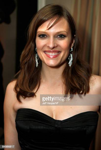 Actress Vinessa Shaw attends the 2009 Vanity Fair Oscar party hosted by Graydon Carter at the Sunset Tower Hotel on February 22 2009 in West...