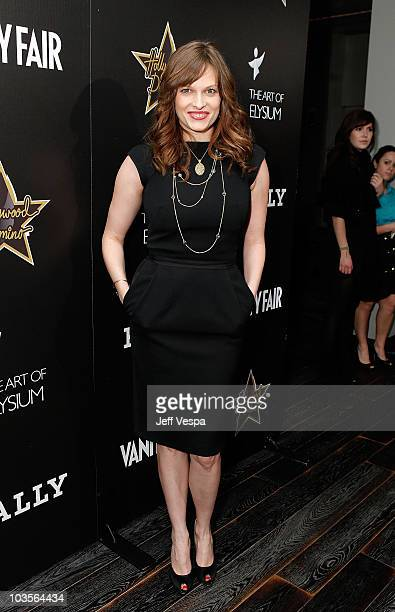 Actress Vinessa Shaw attends the Andaz Grand Opening and Vanity Fair Domino Benefit held at Andaz on February 20 2009 in Los Angeles California