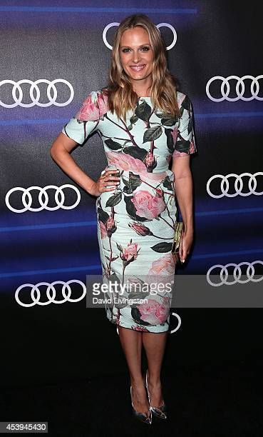 Actress Vinessa Shaw attends the Audi celebration of Emmys Week 2014 at Cecconi's Restaurant on August 21 2014 in Los Angeles California