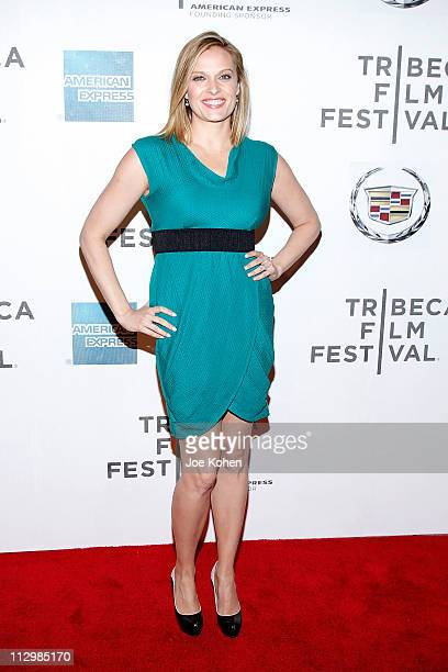 Actress Vinessa Shaw attends the premiere of 'The Good Doctor' during the 2011 Tribeca Film Festival at BMCC Tribeca PAC on April 22 2011 in New York...