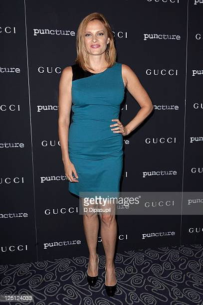 Actress Vinessa Shaw attends the Puncture premiere at the Angelika Film Center on September 15 2011 in New York City