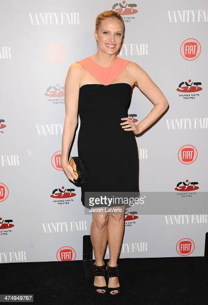 Actress Vinessa Shaw attends the Vanity Fair Campaign Young Hollywood party at No Vacancy on February 25 2014 in Los Angeles California