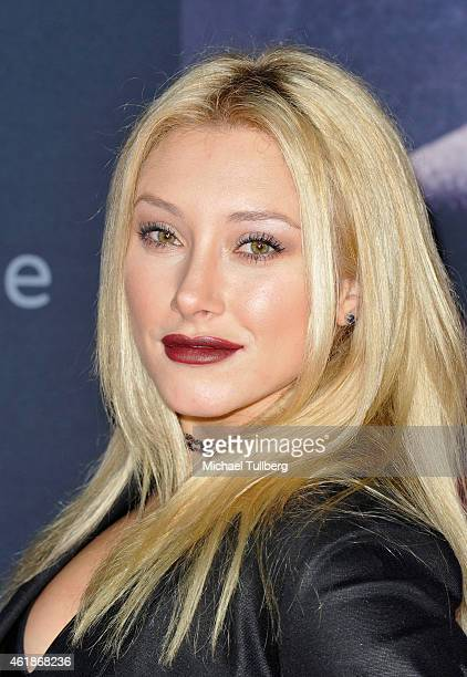 Actress Vino Alexandra attends the premiere of the new film 'Manny' at TCL Chinese Theatre on January 20 2015 in Hollywood California