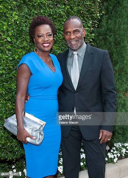 Actress Viola Davis and husband Julius Tennon arrive at The Rape Foundation's Annual Brunchat Greenacres The Private Estate of Ron Burkle on...