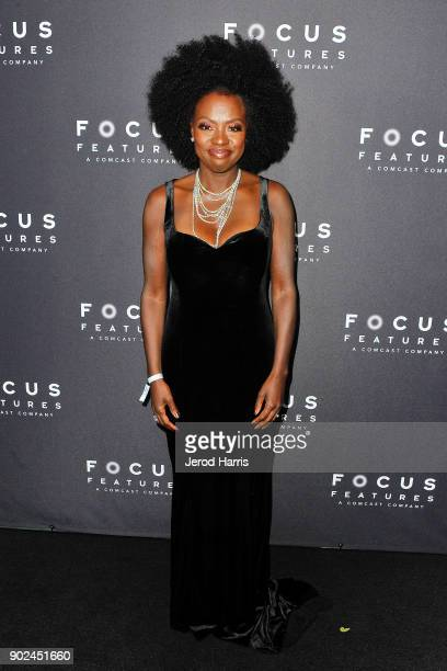 Actress Viola Davis arrives at 2018 American Rescue Dog Show on January 7 2018 in Beverly Hills California