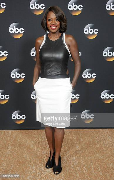 Actress Viola Davis arrives at the 2014 Television Critics Association Summer Press Tour Disney/ABC Television Group at The Beverly Hilton Hotel on...