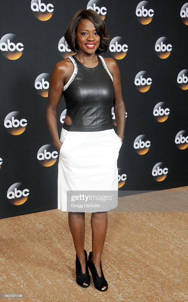 Actress Viola Davis arrives at the 2014 Television Critics Association Summer Press Tour - Disney/ABC Television Group at The Beverly Hilton Hotel on July 15, 2014 in Beverly Hills, California.