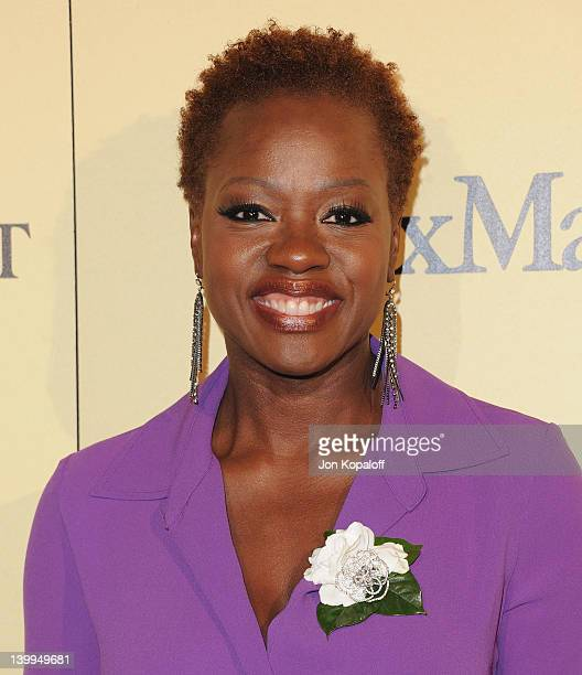 Actress Viola Davis arrives at the 5th Annual Women In Film Pre-Oscar Cocktail Party at Cecconi's Restaurant on February 24, 2012 in Los Angeles,...