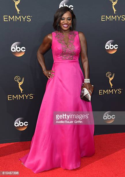 Actress Viola Davis arrives at the 68th Annual Primetime Emmy Awards at Microsoft Theater on September 18 2016 in Los Angeles California