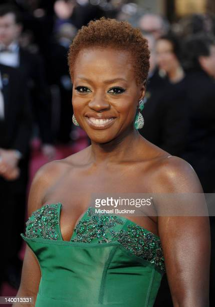 Actress Viola Davis arrives at the 84th Annual Academy Awards held at the Hollywood Highland Center on February 26 2012 in Hollywood California