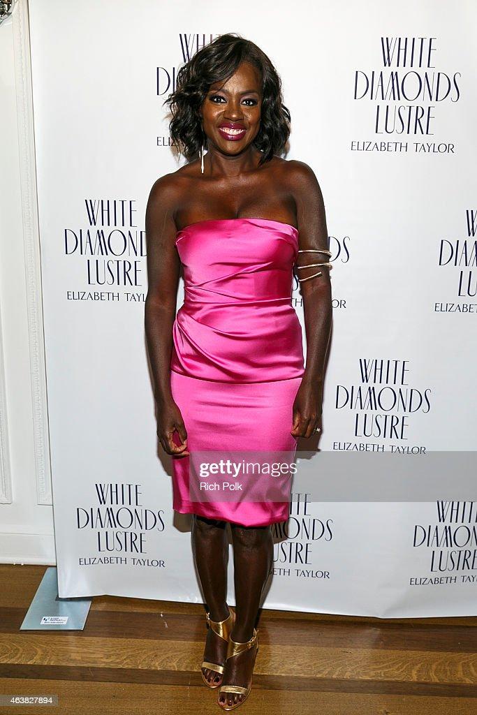 Alfre Woodard's Oscar's Sistahs Soiree Sponsored By White Diamond Lustre, Elizabeth Taylor : News Photo