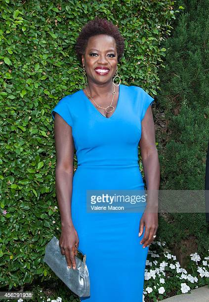 Actress Viola Davis arrives at The Rape Foundation's Annual Brunchat Greenacres The Private Estate of Ron Burkle on September 28 2014 in Beverly...