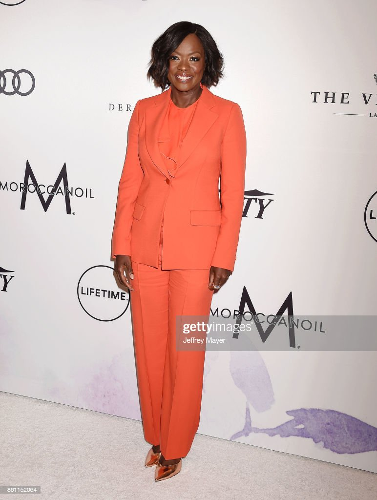 Actress Viola Davis arrives at the Variety's Power Of Women: Los Angeles at the Beverly Wilshire Four Seasons Hotel on October 13, 2017 in Beverly Hills, California.