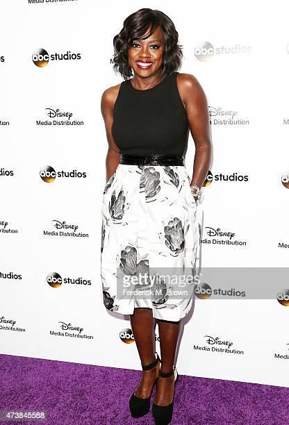 Actress Viola Davis attends Disney Media Disribution International Upfronts at Walt Disney Studios on May 17 2015 in Burbank California