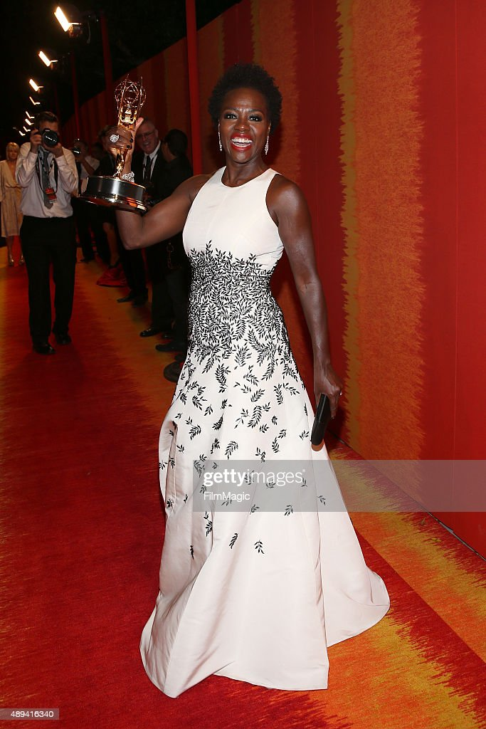 Actress Viola Davis attends HBO's Official 2015 Emmy After Party at The Plaza at the Pacific Design Center on September 20, 2015 in Los Angeles, California.