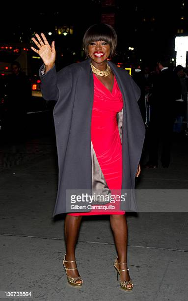 Actress Viola Davis attends the 2011 National Board of Review Awards gala at Cipriani 42nd Street on January 10 2012 in New York City
