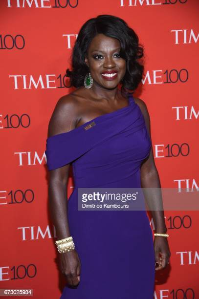 Actress Viola Davis attends the 2017 Time 100 Gala at Jazz at Lincoln Center on April 25 2017 in New York City