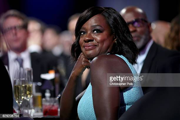 Actress Viola Davis attends The 22nd Annual Critics' Choice Awards at Barker Hangar on December 11 2016 in Santa Monica California