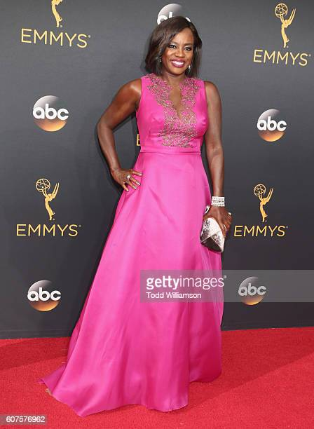 Actress Viola Davis attends the 68th Annual Primetime Emmy Awards at Microsoft Theater on September 18 2016 in Los Angeles California