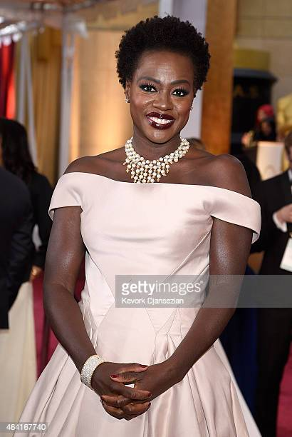Actress Viola Davis attends the 87th Annual Academy Awards at Hollywood & Highland Center on February 22, 2015 in Hollywood, California.