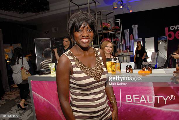 Actress Viola Davis attends the CVS Pharmacy Beauty Club at the Access Hollywood Stuff You Must Lounge produced by On 3 Productions at the Sofitel...