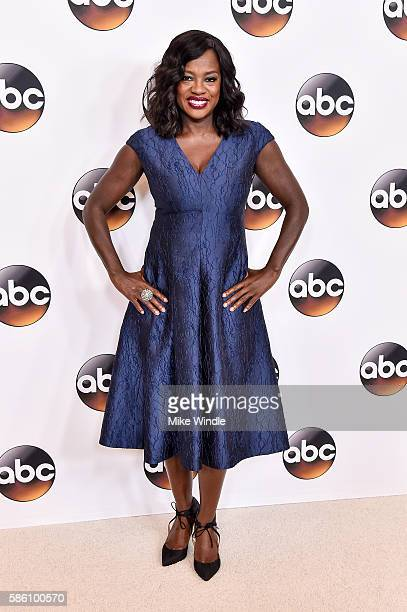 Actress Viola Davis attends the Disney ABC Television Group TCA Summer Press Tour on August 4 2016 in Beverly Hills California